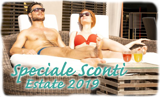 Speciale Sconti Estate 2019